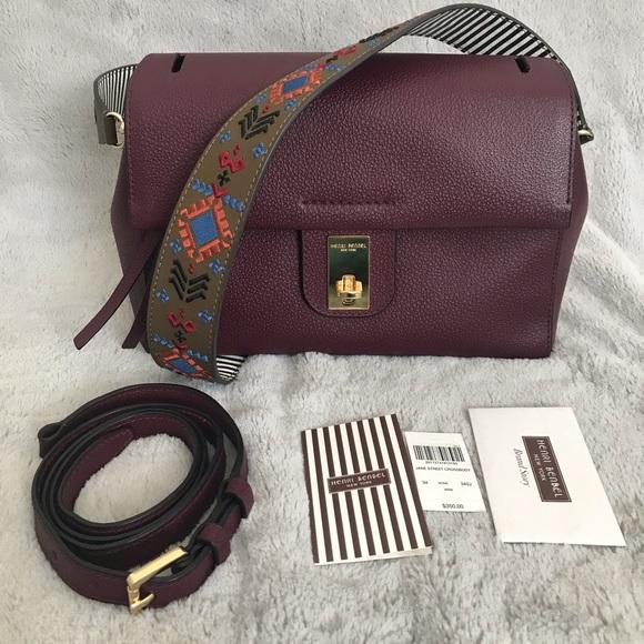 Henri bendel jane street crossbody purse